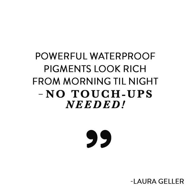 Our INKcredible Waterproof Gel Eyeliner Pencil is available in 14 rich shades ✨😱 Shop today on laurageller.com. . . . #lauragellerbeauty #justwingit #eyelingermusthave #smartmakeup #INKcredibleliner.