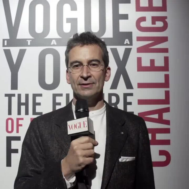 Apply NOW! Here Chairman and CEO, YOOX Net-A-Porter Group @FedericoMarchetti talks about the 'Vogue YOOX Challenge - The Future of responsible fashion', the project in collaboration with @Yoox which is dedicated to designers and start-ups that are boldly investing in a responsible approach. Discover how to apply via link in bio and on YOOX. #VogueYOOXChallenge