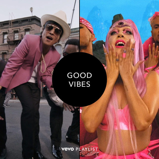 We're sending good vibes straight to you with a new playlist including @iammarkronson ft. @brunomars, @ladygaga, @outkast and more... enjoy! ☮️ ⠀⠀⠀⠀⠀⠀⠀⠀⠀ ▶️ [link in bio]  #brunomars #markronson #ladygaga #outkast #uptownfunk #heyya #stupidlove
