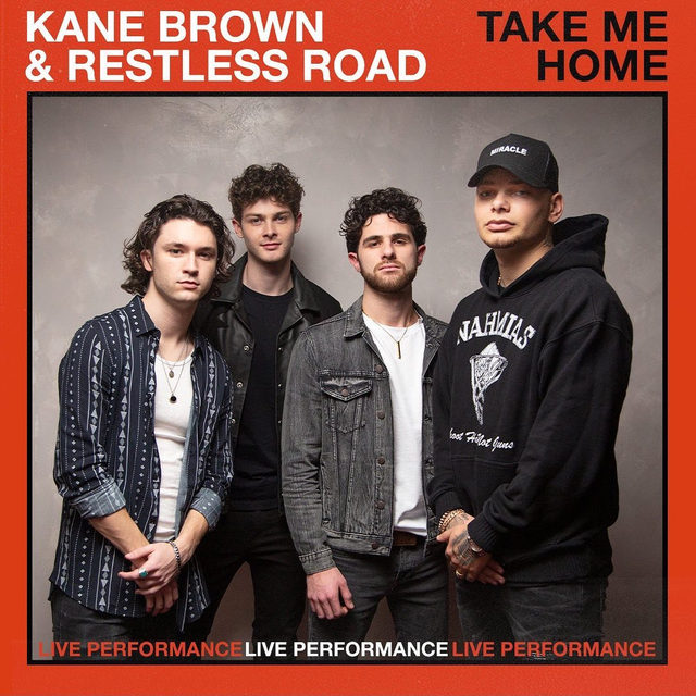 """It's a new spin on an old classic 🤠@kanebrown_music and @restlessroad stopped by our Times Square studio and performed of """"Take Me Home."""" Check it out now! ⠀⠀⠀⠀⠀⠀⠀⠀⠀ ▶️[Link in bio] #KaneBrown #RestlessRoad #TakeMeHome"""