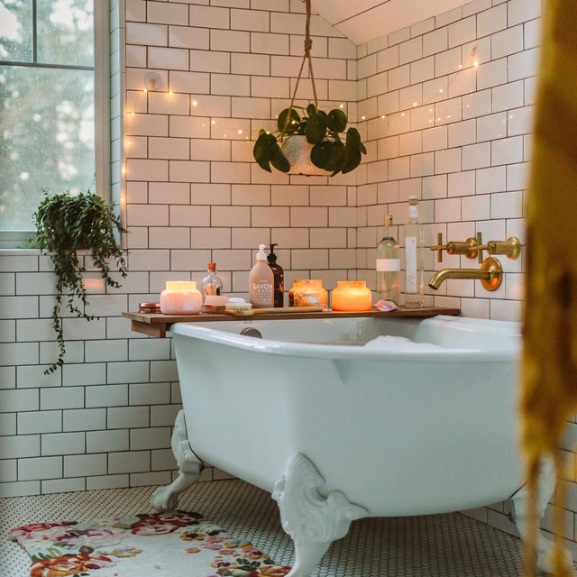 If you need us, we'll be right here – unwinding from the week. What's your preferred method of (much-needed) relaxation? Let us know below 🛁🕯🌱