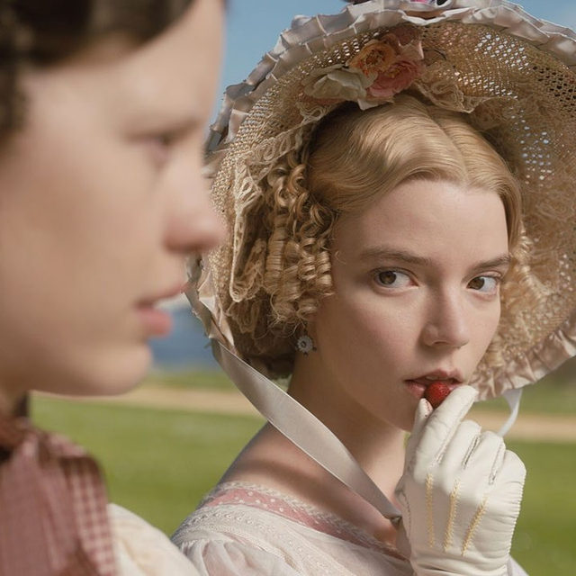 @AutumndeWilde's new retelling of 'Emma' - Jane Austen's greatest anti-heroine - is now available online. The casting is definitely a stroke of genius, including @AnyaTaylorJoy as Emma, who is no stranger to period dramas - we remember for example 'The Witch' - and iconic @realMirandaHart, as Miss Bates, a compulsive talker who was memorably insulted on one occasion by the book's heroine. Vogue interviewed her regarding her role in the movie and discuss how important messages on different subjects, like forgiveness, originally written by Jane Austen, are now more contemporary than ever. Tap the link in bio to read more.
