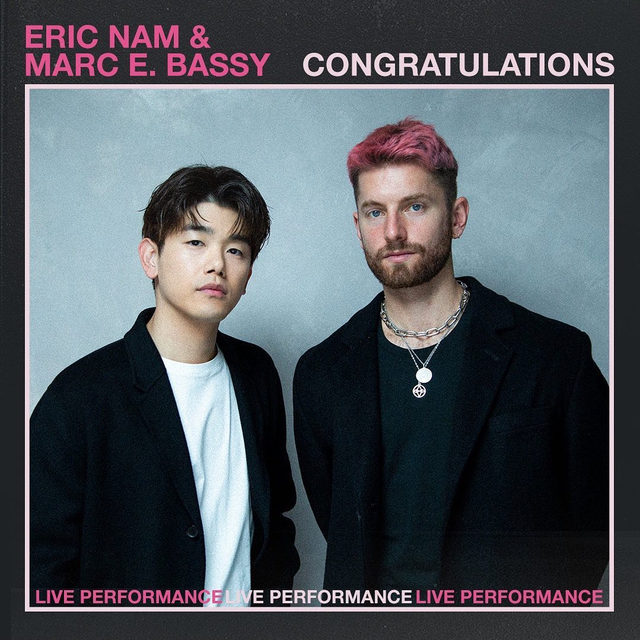 """@ericnam is set for a world takeover! 🌎 The Atlanta native has made it big in South Korea and hit our studio with @marcebassy for an electric performance of """"Congratulations"""" and then went solo for """"Love Die Young."""" Check out the performances now! ⠀⠀⠀⠀⠀⠀⠀⠀⠀ ▶️[Link in bio] #EricNam #MarcEBassy #Congratulations #LoveDieYoung"""