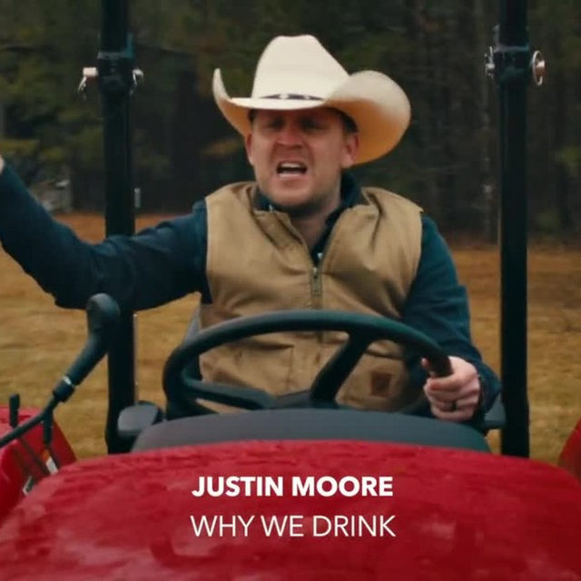"""@justincolemoore gives us reasons to """"Why We Drink"""" and we'll cheers to that 🍻 Watch his new music video now! ⠀⠀⠀⠀⠀⠀⠀⠀⠀ ▶️[Link in bio] #JustinMoore #WhyWeDrink"""