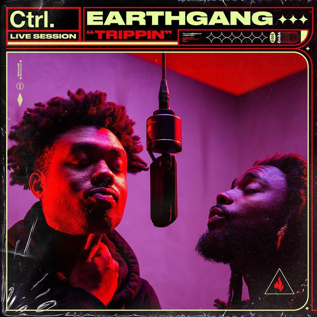 """Let the Atlanta duo @Earthgang transport you to a cosmic utopia where Black excellence and cultural pride reign supreme ⚡️They hit the booth for two #Ctrl performances of """"Trippin"""" and """"Blue Moon""""  from last year's 'Mirrorland'! ⠀⠀⠀⠀⠀⠀⠀⠀⠀ ▶️[Link in bio] #EARTHGANG #Trippin #BlueMoon"""