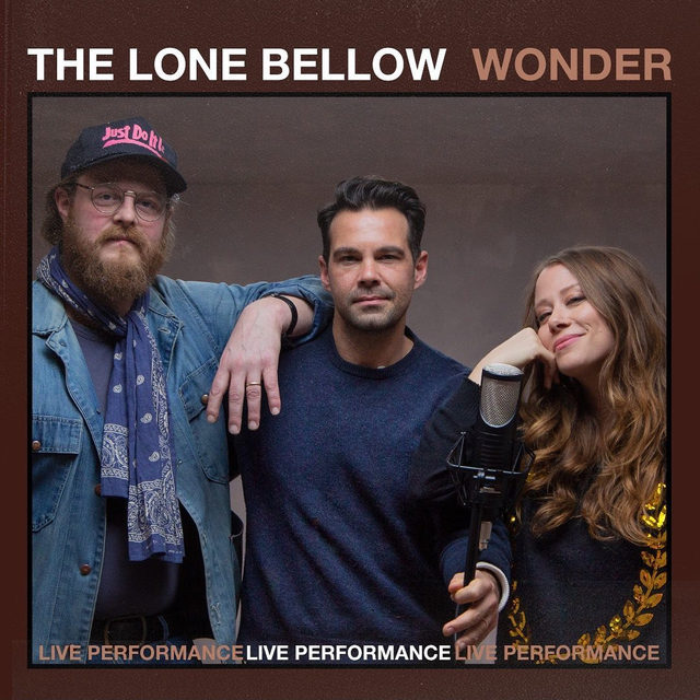 """Like a fine wine, @thelonebellow is getting better with age 🎸The trio stopped by our studio for a performance of """"Wonder"""" proving they've never been better! ⠀⠀⠀⠀⠀⠀⠀⠀⠀ ▶️[Link in bio] #TheLoneBellow #Wonder"""