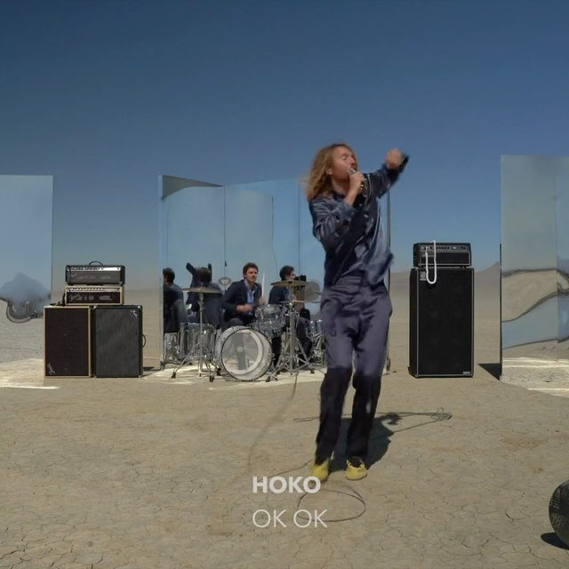 """Fresh new band, @Hoko invites us into their alternative and creative world with their debut single """"OK OK."""" Watch their video now for the coolest desert band setup yet 🌵 ⠀⠀⠀⠀⠀⠀⠀⠀⠀ ▶️[Link in bio] #HOKO #OKOK"""