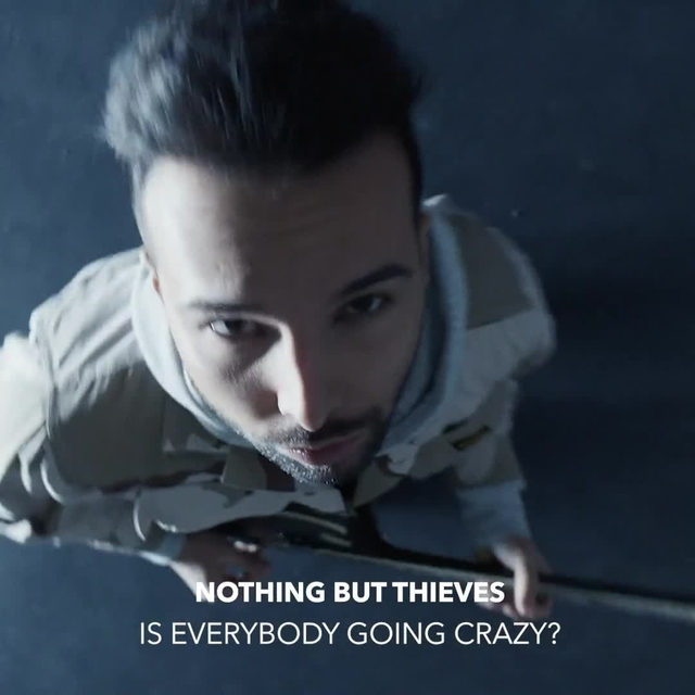 """Fans are going crazy over @nothingbutthieves' new music video 😱 Watch """"Is Everybody Going Crazy?"""" now! ⠀⠀⠀⠀⠀⠀⠀⠀⠀ ▶️[Link in bio]#NothingButThieves #IsEverybodyGoingCrazy"""