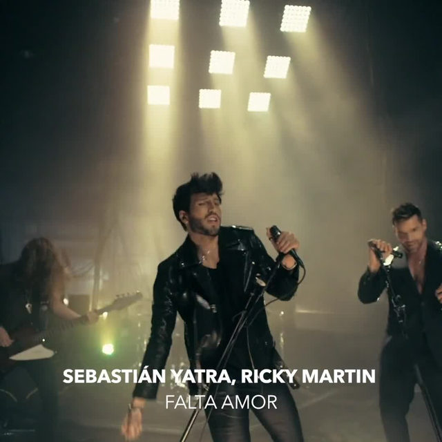 """This duo crushed it!! 💣@SebastianYatra and @ricky_martin sing about missing love but they aren't giving up just yet! Don't miss their fiery and passionate music video for """"Falta Amor"""" 🔥 ⠀⠀⠀⠀⠀⠀⠀⠀⠀ ▶️[Link in bio] #SebastianYatra #RickyMartin #FaltaAmor"""
