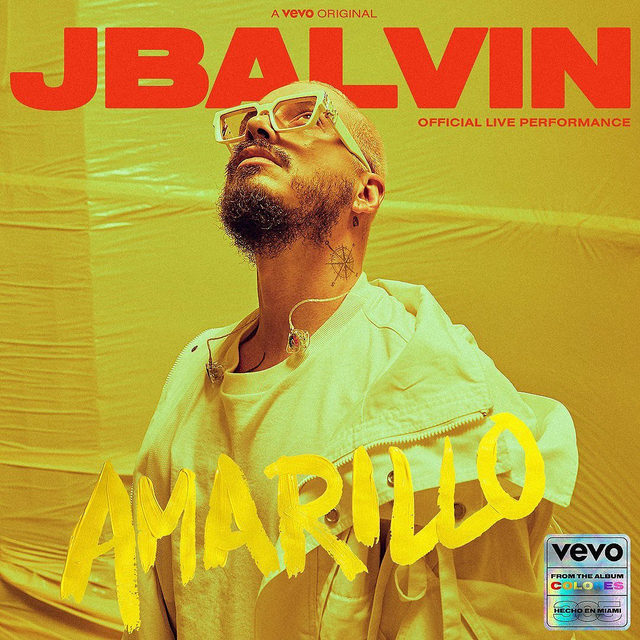 """You know Balvin? Now meet Jose! @JBalvin brings his electric flow in this Official Live Performance of """"Amarillo"""" 💛 Latino Gang, stand up! Our #Colores takeover starts now ⚡ ⠀⠀⠀⠀⠀⠀⠀⠀⠀ ▶️[Link in bio]#JBalvin"""