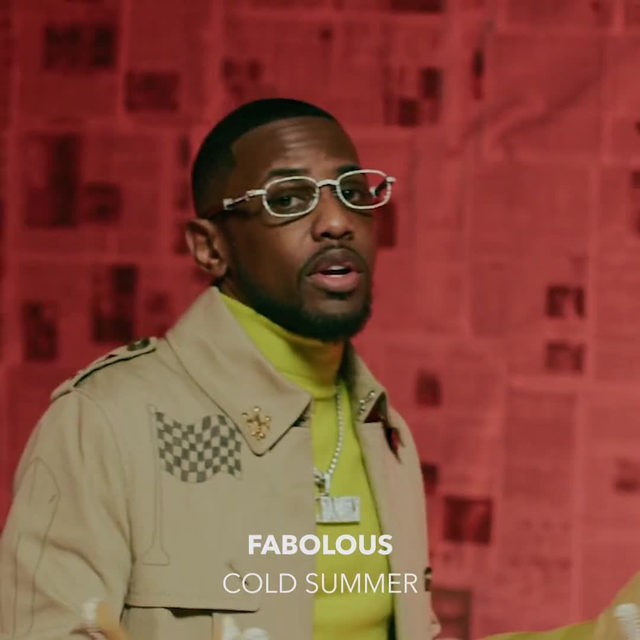 """The weather report is in and it's gon' be a """"Cold Summer."""" Watch @myfabolouslife spit facts in his new video out now! Directed by @directedbydiego 🎥 ⠀⠀⠀⠀⠀⠀⠀⠀⠀ ▶️[Link in bio] #Fabolous #ColdSummer"""