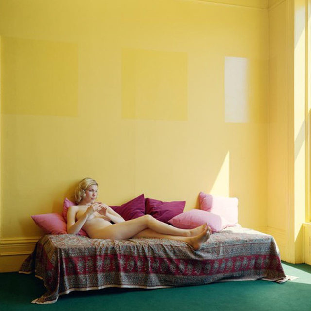 """#StayHome: """"'Summer Afternoons' was based on a couple of personal memories of a particular place, which was a replica of a real place I once lived in. Its character came back to me and that meaning or mood was worth investigating."""" —Jeff Wall  Jeff Wall's 2013 diptych, """"Summer Afternoons,"""" was included in his first exhibition with the gallery last year at Gagosian, West 21st Street, New York. Visit """"Gagosian Quarterly"""" via the link in our bio to read an interview with David Rimanelli in which Wall discusses his works, the physicality of photography, and the persistence of certain motifs throughout his career. __________ #JeffWall #GagosianQuarterly #Gagosian Jeff Wall, """"Summer Afternoons,"""" 2013 © Jeff Wall"""