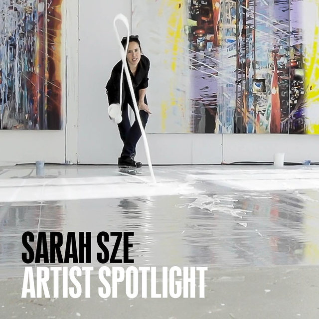 #GagosianSpotlight: New York–based artist Sarah Sze kicks off our new Artist Spotlight series—a multifaceted online program that highlights individual artists, one week at a time, who had exhibitions affected by the health crisis.  A peerless bricoleur, Sze gleans objects and images from worlds both physical and digital, assembling them into complex multimedia installations that prompt microscopic observation while evoking a macroscopic perspective on the infinite. In recent years she has returned to painting—the medium in which she first trained—producing works that translate her processes of sculptural accumulation into the making of collaged paintings that are detailed, dynamic, and highly textural.  This week, we will unveil a rich weave of features—including videos, interviews, essays, film lists, and more—to provide engaging insights into Sze's artistic practice and process, inspirations and influences. On Friday at 6am EDT, the gallery will present a single artwork by Sze exclusively on the Gagosian we
