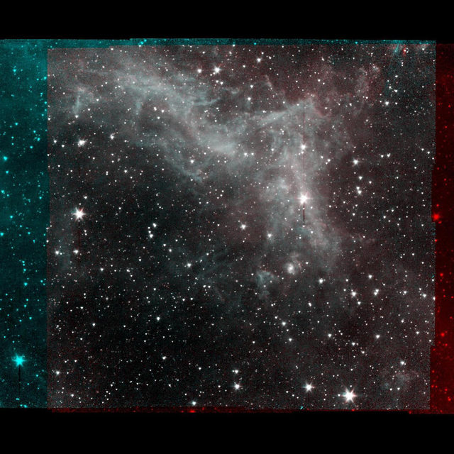 This series of images taken by @NASA's Spitzer Space Telescope on Jan. 25, 2020, shows part of the California Nebula, which is located about 1,000 light-years from Earth. This is the final mosaic taken by the mission before it was decommissioned on Jan. 30, 2020. 🔗 Tap the link in our bio to learn about other space missions we've loved and lost.