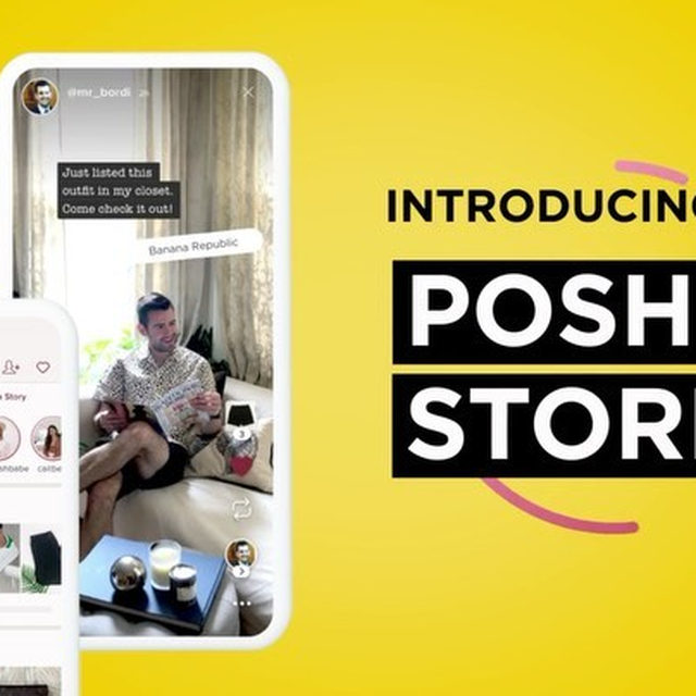 Get ready to level up your Poshmark selling. Say hello to Posh Stories, a new seller tool that introduces video on Poshmark. 🤳 With this feature you'll be able to:⠀ ⠀ 🌟Bring Your Listings to Life: Showcase and sell your listings in short videos and photos that disappear in 48 hours.⠀ ⠀ 🌟Make Your Stories Shoppable: Tag your listings to make it easy for shoppers to discover your items right from Stories.⠀ ⠀ 🌟Connect with Your Community: Support and connect with other Poshers by liking and sharing their Stories to spread the #PoshLove.⠀ ⠀ This exciting new feature is gradually rolling out to the entire community starting today, be sure to update your app and stay tuned! Tap our link in bio to learn more. #PoshStories