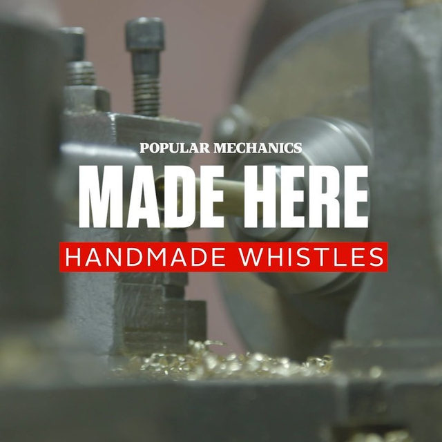 Step inside the headquarters of the worlds largest whistle manufacturer on our latest episode of MADE HERE. 🔗 Tap the link in bio to watch the full video.