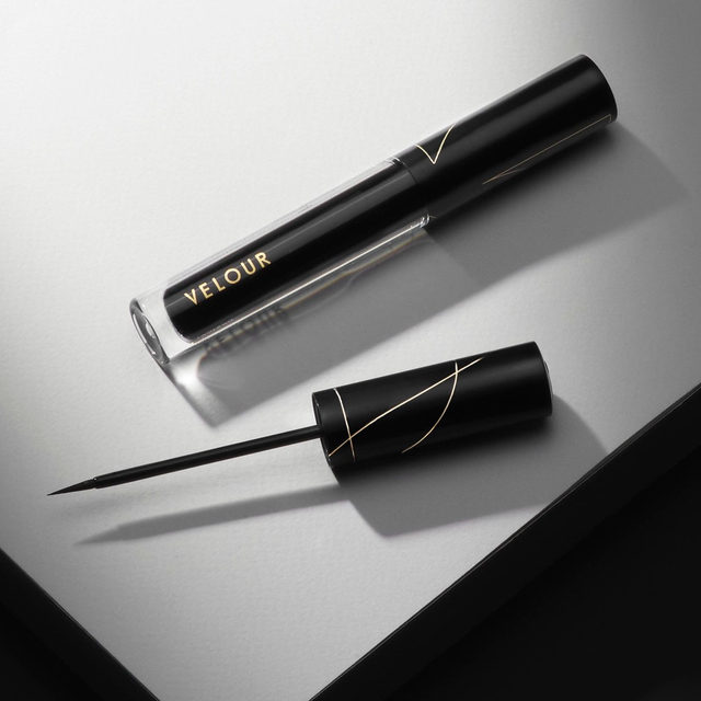 Leave a like if you want your own Lash & Go in your collection! 👇🏻 Lash & Go Eyeliner will revolutionize the way you think about lashes and liner.  A hybrid product. Eyeliner AND Lash adhesive with a satin-matte finish, making lash application more effortless than ever before.  We've got you set up with some amazing bundle deals - shop our new Lash & Go eyeliner and select a lash from the bundle window to save $10 on the entire set. 🖤Exclusively on velourbeauty.com  #VelourBeauty #LashAndGo