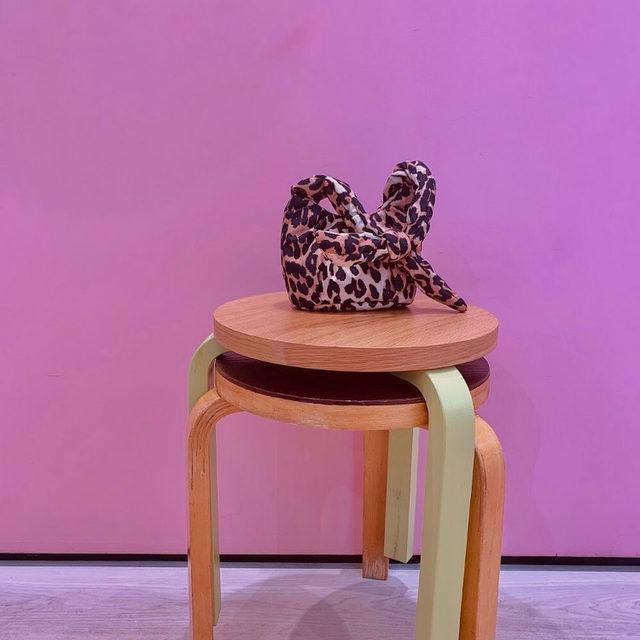 Small pleasures 🐆 - Small Padded Leopard Bag  #GANNI #GANNIGirls