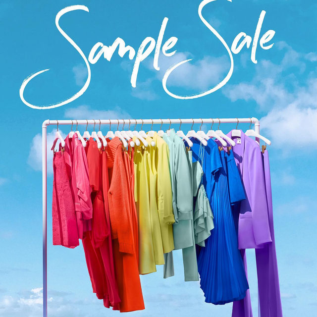 Our epic annual#samplesaleis now on! And while it is usually only available to those in NYC, it's now online for all at aliceandolivia.com.#SampleSale#Sale