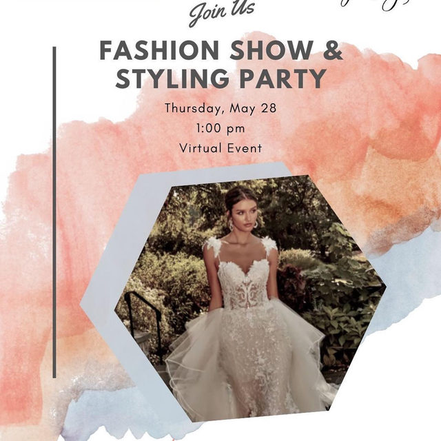 Time is ticking 🕰️ Have you RSVP'd for our Virtual Fashion Show and Styling Event on @lovestoriestv with @eveofmilady? Join us this Thursday, May 28th at 1 pm EST for the Fall 2020 bridal fashion show! Click the link in our bio to sign up!  Get a front-row view of our stunning 2020 collection. Judie Ulberg, Sales Director of @eveofmilady and Cristina DeMarco, Vice President of #BridalReflections will join Rachel Jo Silver and share details + styling suggestions for each featured gown and answer YOUR bridal fashion questions live. 💋#eveofmilady