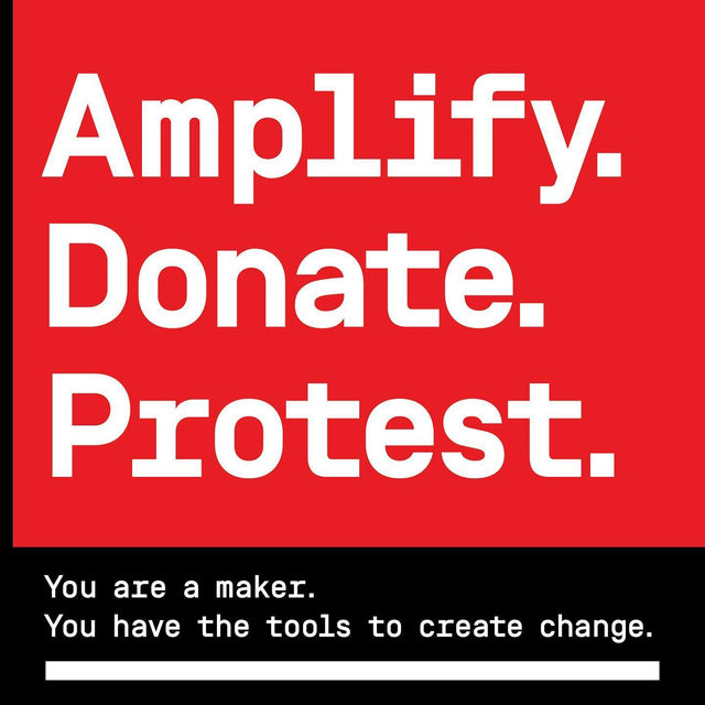 Tap the link in our bio for a list of organizations where you can donate to help the protests against police brutality and systemic racism. We must continue to amplify voices who are speaking out against racial injustices. Whether you are participating in protests or you want to do as much as you can from home by signing a petition/making a donation—now is the time to act. 🖤 Black lives matter.