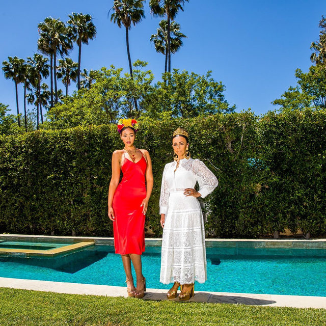I will be using my platform to bring awareness to some of the amazing women of color in the fashion industry who everyone should follow! @bellabharris @lisajamharris are an amazing mom-daughter power duo!!! ❤️