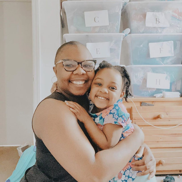 """#MeetthePosher Jean of @curvesandherbs: """"I'm a Black woman who has a Black daughter and runs a Black-owned business. ✊🏾I'm committing myself to intentionally uplift and encourage POC through my work in my business. I want you to know that your life matters to me ✨"""" Tap our link in bio to support her closet and show her #PoshLove."""