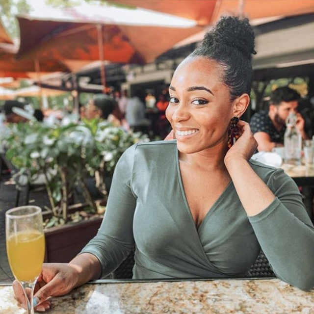 """#MeetthePosher """"Hey! I'm Monique (@shopblessednbougie), I'm a Poshmark Ambassador and a graduate student who studies the ways parents communicate issues of race to their children. To me, Juneteenth celebrates the resilience and resistance African American communities have demonstrated across generations. It is a day for #Blackjoy and a time for all of us to reflect on how to challenge inequitable systems around us.""""  Tap our link in bio to support her closet and show her #PoshLove."""