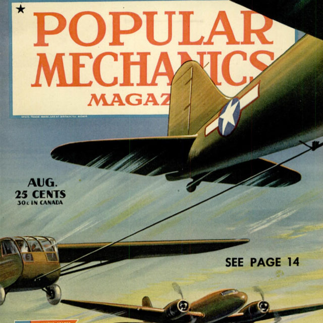 A little #throwback to August 1944: During the height of World War II, Popular Mechanics flew aboard the new B-29 bomber and wrote about the experience. 🔗 Link in bio to read that original article.