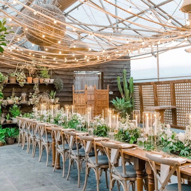 As the country begins opening up, we all just want to know: where do weddings fall into all of this? We asked multiple industry pros what they think the future looks like and their best guesses are at the #linkinbio.  #regram: @terrain_events 📸: @mariamackphotog 💐: @belovely_design