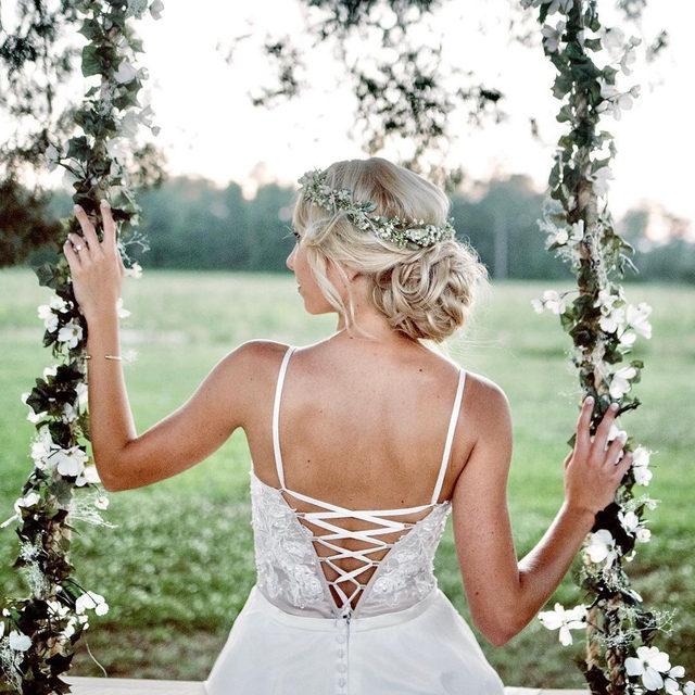 Garden goddess 🌿✨ Mina, Style 6861 . . . #morilee @madelinegardner #madelinegardner #chic #designerweddingdresses #weddingdesigner #bridal #bridalgown #instawed #weddingseason #realweddings #weddedbliss #weddingshoot #bride2019 #realbride #sayyestothedress #isaidyes #bride2be #pride #love #bridalgowns #bridalgown #modernbride #loveislove #dresscometrue #2020wedding #romantic #brides