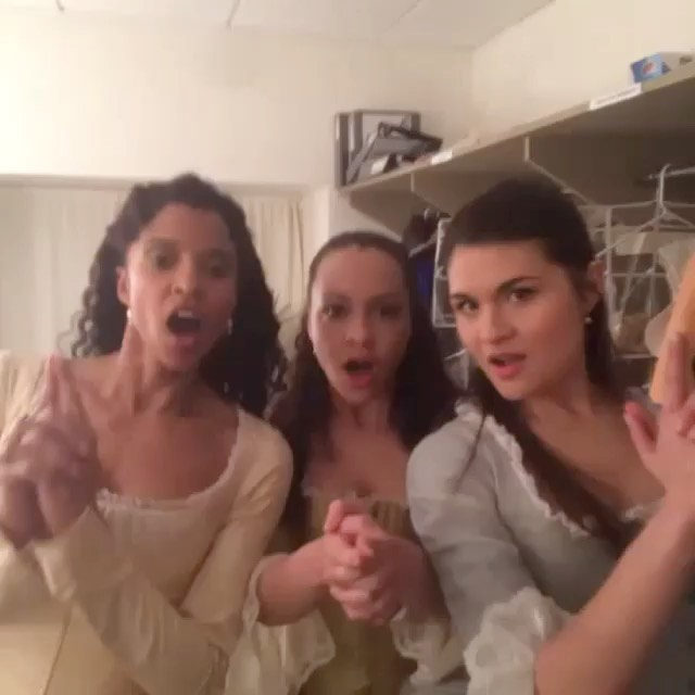 Did you watch #Hamilton this weekend? Duh. Do you stan the #SchuylerSisters? DUH. But how much of Eliza's musical storyline is actually true? Link in bio. #regram @hamiltonmusical