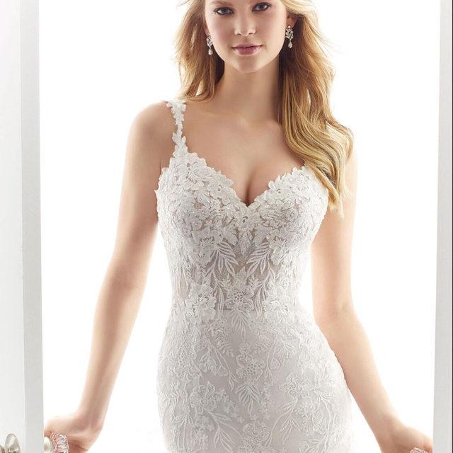 Exquisite frosted and embroidered #lace takes center stage on our Aviva #gown, Style 2194😍 . . . #morilee @madelinegardner #madelinegardner #chic #designerweddingdresses #weddingdesigner #bridal #bridalgown #instawed #weddingseason #realweddings #weddedbliss #weddingshoot #bride2019 #realbride #sayyestothedress #isaidyes #bride2be #pride #love #bridalgowns #bridalgown #modernbride #loveislove #dresscometrue #2020wedding #romantic #brides