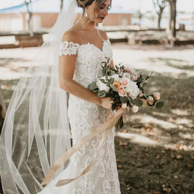 Lovely in #lace 💕✨ Kassia, Style 8203 ✨ . . . #morilee @madelinegardner #madelinegardner #chic #designerweddingdresses #weddingdesigner #bridal #bridalgown #instawed #weddingseason #realweddings #weddedbliss #weddingshoot #bride2019 #realbride #sayyestothedress #isaidyes #bride2be #pride #love #bridalgowns #bridalgown #modernbride #loveislove #dresscometrue #2020wedding #romantic #brides