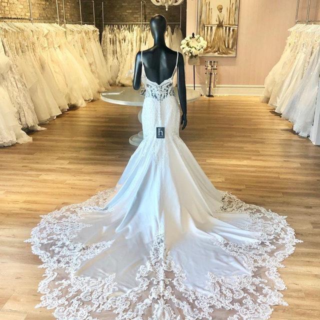 Because making a grand exit is just as important! 😉✨ Sinead, Style 2121 featuring a luxurious satin silhouette and an incredible cut-away shaped train ✨ . . . #morilee @madelinegardner #madelinegardner #chic #designerweddingdresses #weddingdesigner #bridal #bridalgown #instawed #weddingseason #realweddings #weddedbliss #weddingshoot #bride2019 #realbride #sayyestothedress #isaidyes #bride2be #pride #love #bridalgowns #bridalgown #modernbride #loveislove #dresscometrue #2020wedding #romantic #brides