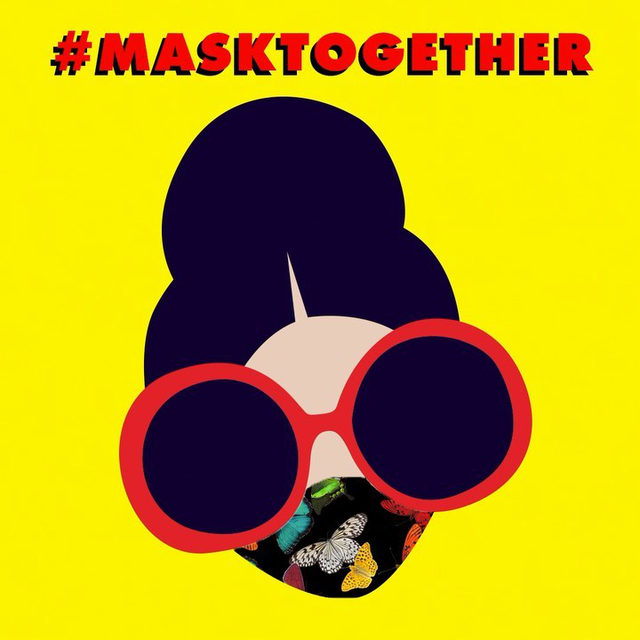 People!!! Wearing masks is the absolute best way to reduce the exponential spread of germs! Our limited edition print masks are back in stock and for every mask we sell we donate ten meals to children in need!!! #masktogether #buymasksgivemeals ❤️❤️❤️❤️