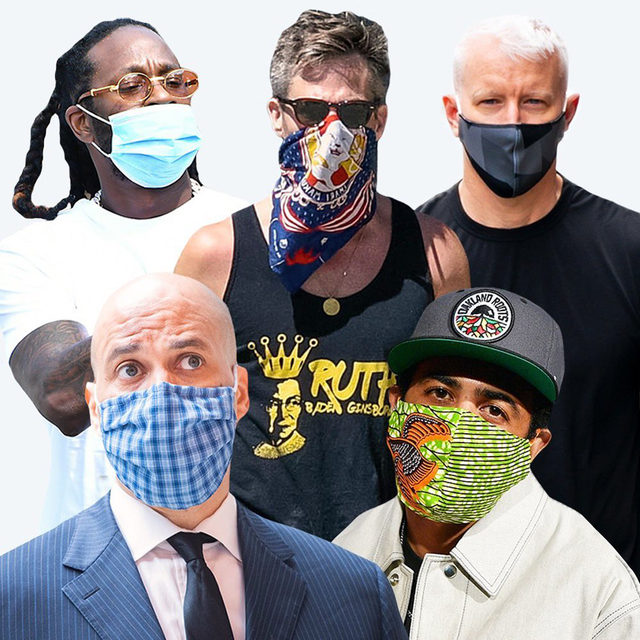 """""""The verdict is in: Men wearing PPE automatically project BDE. There's nothing sexier than those special men who roll out of bed to throw on a PBS T-shirt and correctly-worn face covering (hi, Chris Pine)."""" I've Never Wanted to See Hot Men's Faces Less. Words by @savannahdwalsh. Link in bio."""