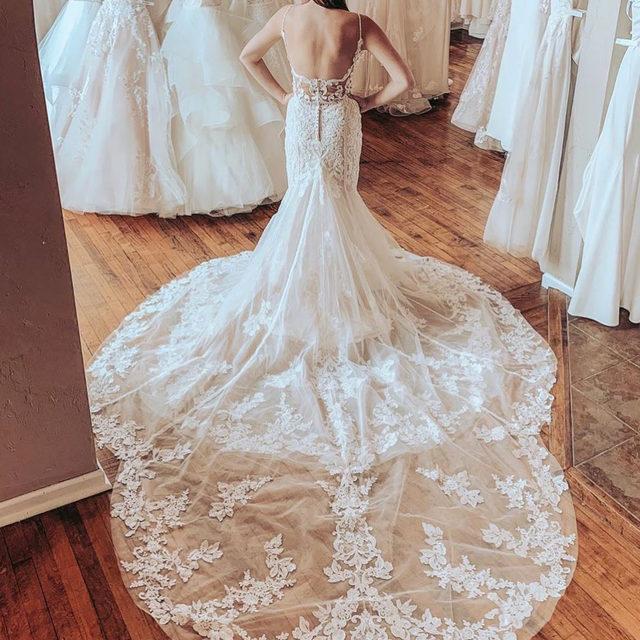 An absolute #showstopper! 😍✨ Sigrid, 2128 ✨ . . . #morilee @madelinegardner #madelinegardner #chic #designerweddingdresses #weddingdesigner #bridal #bridalgown #instawed #weddingseason #realweddings #weddedbliss #weddingshoot #bride2019 #realbride #sayyestothedress #isaidyes #bride2be #pride #love #bridalgowns #bridalgown #modernbride #loveislove #dresscometrue #2020wedding #romantic #brides