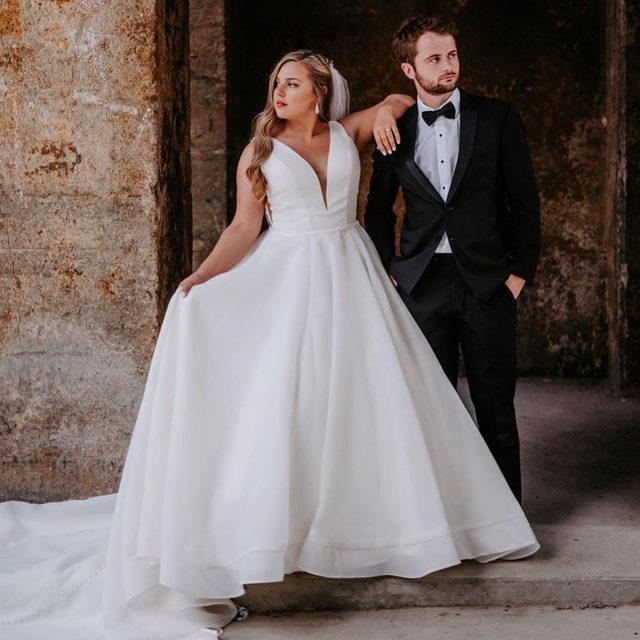 Picture #perfect in Sara, Style 5814 💖✨ . . . #morilee @madelinegardner #madelinegardner #chic #designerweddingdresses #weddingdesigner #bridal #bridalgown #instawed #weddingseason #realweddings #weddedbliss #weddingshoot #bride2019 #realbride #sayyestothedress #isaidyes #bride2be #pride #love #bridalgowns #bridalgown #modernbride #classicbride #dresscometrue #2020wedding #romantic #brides