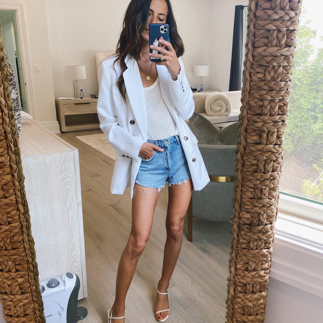 Denim shorts season is in full swing! Head to the link in bio to see how Arielle is styling her favorite pair this summer (including an outfit with a top from July drop 2 💙)