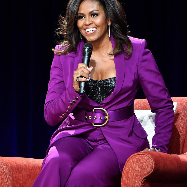 """GOOD DAY to #MichelleObama and her new podcast! The former First Lady has teamed up with Spotify for """"The Michelle Obama Podcast"""" to discuss """"relationships that make us who we are"""" and we've already cleared our schedule. 👑👑👑 Link in bio for launch date and details."""