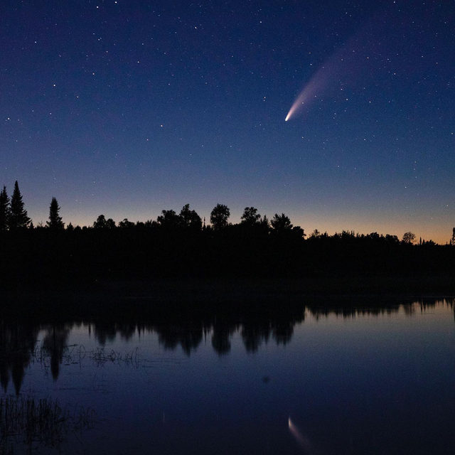 Were you able to spot the #neowise comet this week?  It will be making its closet approach to Earth on July 22. 🔗Link in bio to learn more. 📸:@gettyimages