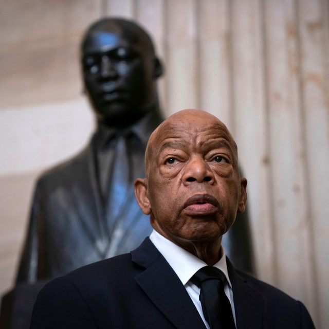 "The congressman and civil-rights leader John Lewis died on Friday. Lewis grew up in a sharecropper family near Troy, Alabama. When he was barely 20, he was among the first Freedom Riders and helped to organize the 1963 March on Washington, where he spoke alongside Dr. Martin Luther King, Jr. In a long career as an activist, Lewis was arrested 45 times and beaten repeatedly by the police and by white supremacists, most famously in Selma, on March 7, 1965—Bloody Sunday—when he helped lead 600 people marching for voting rights, sparking Lyndon Johnson to push through the Voting Rights Act. ""No one, over a long lifetime, gets everything right,"" David Remnick wrote, in 2019. ""John Lewis has come as close as anyone."" At the link in our bio, read about Lewis's lifelong fight for freedom and equality."