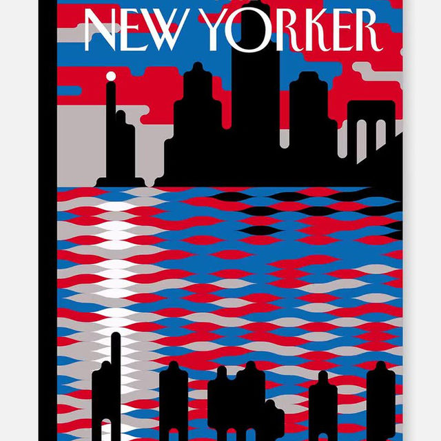 "This week's cover, ""Voices of Change,"" by @abstractsunday. #NewYorkerCovers"