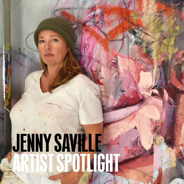 #GagosianSpotlight: This week, Jenny Saville features in our Artist Spotlight series. In her depictions of the human form, Saville transcends the boundaries of both classical figuration and modern abstraction. Oil paint, applied in heavy layers, becomes as visceral as flesh itself, each painted mark maintaining a supple, mobile life of its own. As Saville pushes, smears, and scrapes the pigment over her large-scale canvases, the distinctions between living, breathing bodies and their painted representations begin to collapse.  We will share a range of features—including videos, interviews, and more—to provide insights into Saville's artistic practice and influences. Artist Spotlight: Jenny Saville features a new self-portrait made by the artist to commemorate her fiftieth birthday earlier this year. It will be unveiled on the Gagosian website on Friday, July 24, at 6am EDT. Follow the link in our bio for more. __________ #JennySaville #Gagosian Photo: courtesy the artist