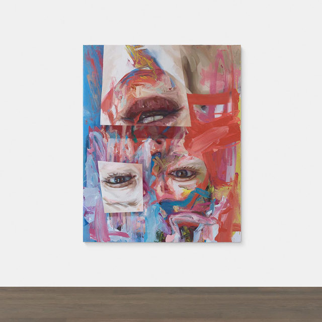 """#GagosianSpotlight: """"It's as much about painting as about portraiture. Realism is what concerns me most—what can reality look like in twenty-first-century painting? I once read a quote by Georges Bataille about an upside-down head in which the mouth exists where the eyes should be—and how violent and disconcerting it is to see gleaming teeth and lips at the top of a head."""" —Jenny Saville   Gagosian is pleased to present """"Virtual"""" (2020) by Jenny Saville, now available for forty-eight hours only.   On the occasion of her fiftieth birthday, and inspired by her experience in a time of quarantine, Saville has created """"Virtual,"""" a new oil-on-canvas self-portrait whose imagery looks to past and present in equal measure. Perched at the tipping point between realism and abstraction, this work registers a visual slippage, reflecting the multivalent images and identities inherent to an image-saturated world in which the real and the virtual maintain an uneasy coexistence. Follow the link in our bio for more information"""