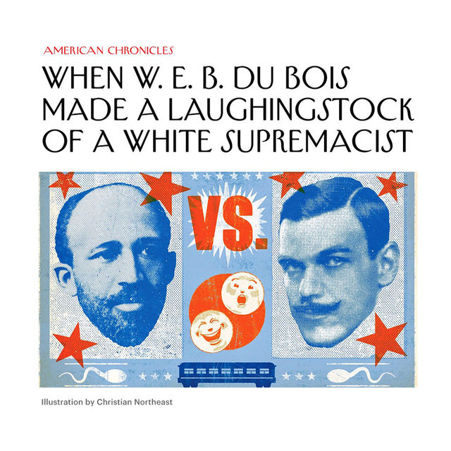 In 1929, W. E. B. Du Bois debated the white supremacist Lothrop Stoddard on the topic of racial inequality in front of thousands of spectators. Tap the link in our bio to read what happened when a ridiculous, Nazi-loving racist went up against the 20th century's leading black intellectual (spoiler: it did not end well for Stoddard).
