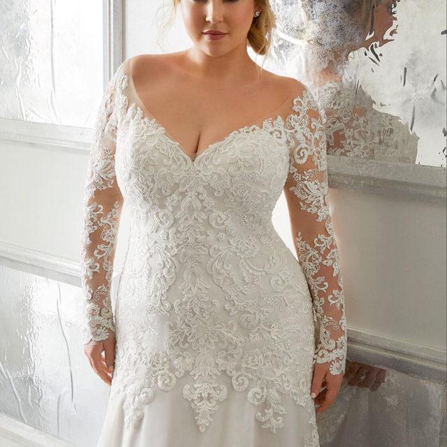 Luxe #lace details and a stunning silhouette 💖 Adrian, Style 3301 ✨ . . . #morilee @madelinegardner #madelinegardner #chic #designerweddingdresses #weddingdesigner #bridal #bridalgown #instawed #weddingseason #realweddings #weddedbliss #weddingshoot #bride2019 #realbride #sayyestothedress #isaidyes #bride2be #pride #love #bridalgowns #bridalgown #modernbride #classicbride #dresscometrue #2020wedding #romantic #brides