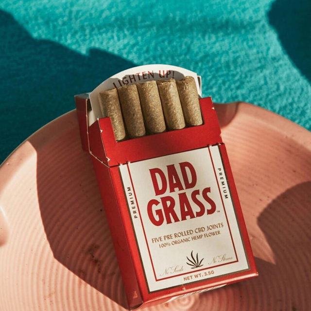 Because we could all use a break right now. Dad Grass: CBD joints made with 100% USDA Organic hemp flower. A smoke break that gives you a clean buzz without the fuss.