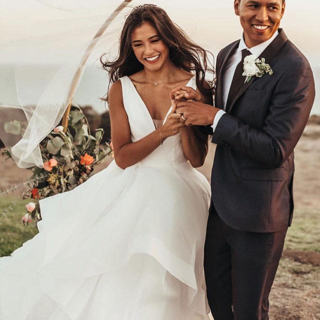 Sunday smiles in Milly ♥️✨ Style 5577 ✨ . . . @madelinegardner #madelinegardner #morileebride #designerweddingdresses #weddingdesigner #bridal #bridalgown #instawed #weddingseason #realweddings #weddedbliss #weddingshoot #bride2019 #realbride #sayyestothedress #isaidyes #bride2be #pride #love #bridalgowns #bridalgown #modernbride #classicbride #dresscometrue #2020wedding #romantic #brides